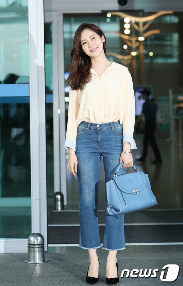 Nữ thần Kpop hai thế hệ đọ sắc: Sung Yuri U40 vẫn trẻ trung, Irene kém 10 tuổi cũng lép vế - Ảnh 3.