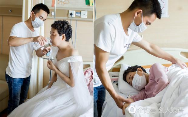 Bức ảnh cưới trong nước mắt và món quà cuối cùng của người vợ dành tặng cho chồng - Ảnh 3.