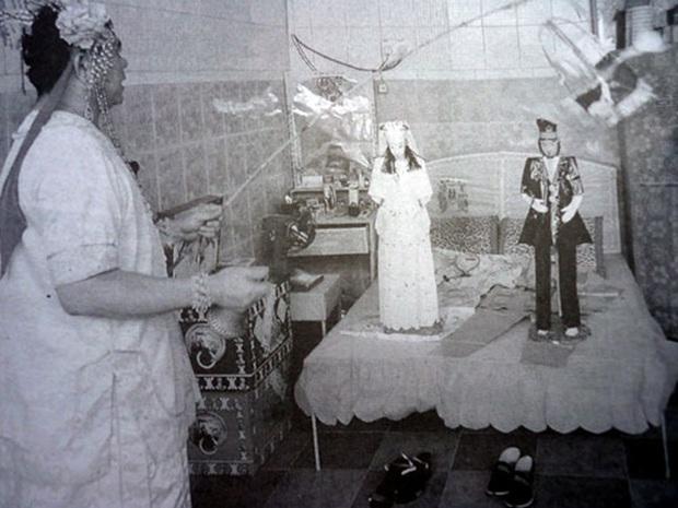 Minh hôn - đám cưới cách biệt âm dương ghê rợn ở Trung Quốc - Ảnh 3.