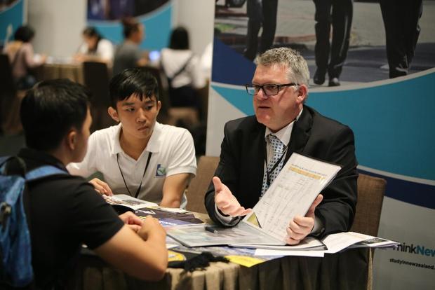 Hơn 35 trường hàng đầu New Zealand vừa tham gia Triển lãm Giáo dục tại Việt Nam - Ảnh 3.