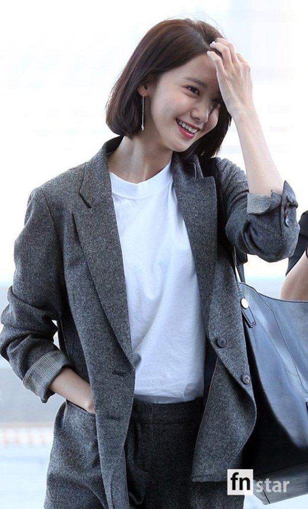 Có ai như Yoona và Lee Dong Wook, đi sân bay thôi cũng lung linh chẳng kém chụp hình tạp chí - Ảnh 4.