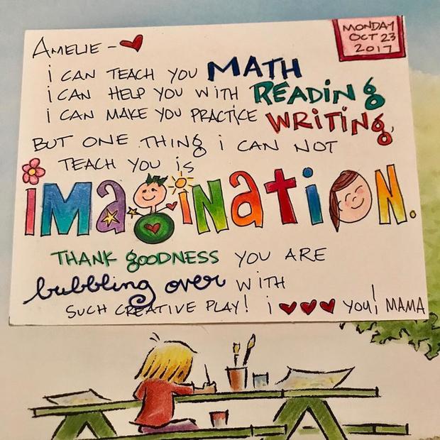 Câu chuyện đau lòng sau những bức thư màu sắc mẹ gửi cho con gái trong mỗi hộp cơm trưa - Ảnh 3.