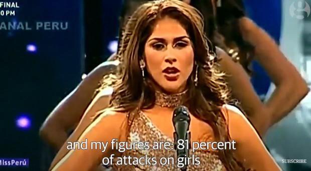 Thay vì công bố số đo 3 vòng, các thí sinh Hoa hậu này lại nói lên những con số gây sốc cho người xem - Ảnh 3.