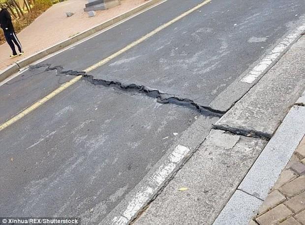 Khung cảnh đổ nát sau trận động đất mạnh 5,5 độ richter được đánh giá là mạnh thứ 2 trong lịch sử Hàn Quốc - Ảnh 4.
