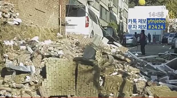 Khung cảnh đổ nát sau trận động đất mạnh 5,5 độ richter được đánh giá là mạnh thứ 2 trong lịch sử Hàn Quốc - Ảnh 7.