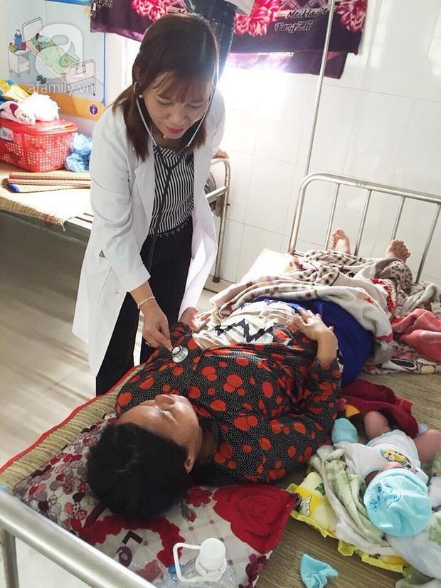 Cà Mau: Lên cơn đau đẻ bất ngờ, sản phụ sinh con trên đường chạy bão Tembin - Ảnh 3.