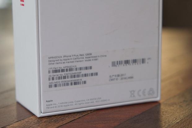 Mở hộp và trên tay iPhone 7 Plus đỏ đầu tiên tại Việt Nam, giá từ 25 triệu đồng - Ảnh 4.