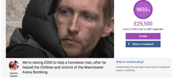 Điều kỳ diệu đến với người đàn ông vô gia cư bất chấp nguy hiểm lao vào ứng cứu nhiều nạn nhân trong vụ đánh bom ở Anh - Ảnh 4.