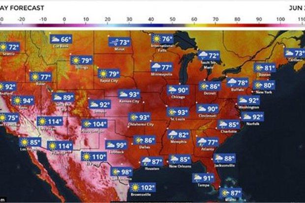 Hình ảnh những thành phố ma Anh, Mỹ vì nắng nóng - Ảnh 4.