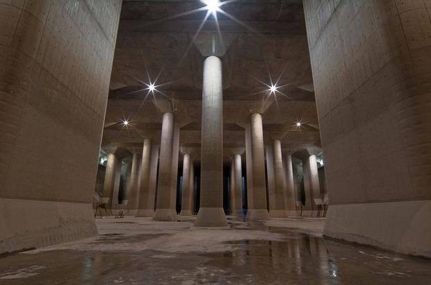 Điện thờ Pantheon dưới lòng đất Tokyo: Hệ thống thoát nước vĩ đại mang niềm tự hào của Nhật Bản - Ảnh 3.
