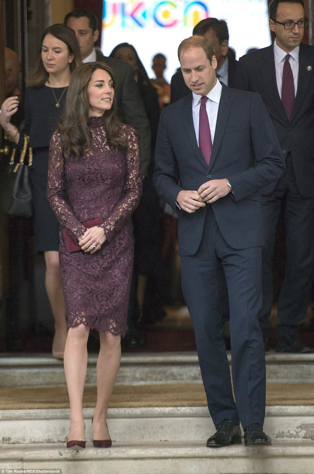 """Ít ai biết được rằng Công nương Kate và Hoàng tử William luôn chủ ý diện đồ """"tông xuyệt tông"""" - Ảnh 4."""