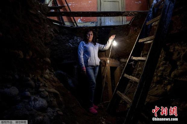 Tin chắc trong nhà có kho báu, người phụ nữ quyết định đào địa đạo tìm kiếm - Ảnh 4.