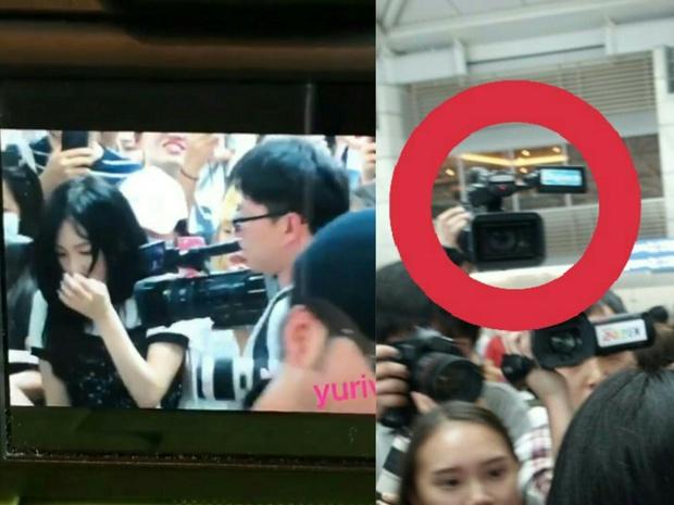 Ngày xui sấp mặt của Taeyeon: Ngã giữa sân bay, camera đập trúng đầu, truyền thông bịa đặt - Ảnh 4.