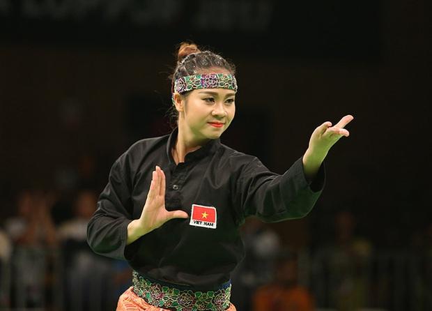 Hoa khôi làng võ vẫn ấm ức vì không thắng được trọng tài ở SEA Games 29 - Ảnh 3.