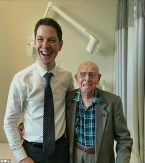 Dù đã ở tuổi 101, người cựu binh chiến tranh đã làm điều phi thường không ai có thể tin - Ảnh 1.