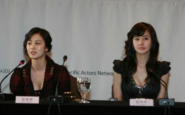 Là nữ thần sắc đẹp Hàn Quốc, Kim Tae Hee có bị lu mờ khi đứng cạnh các đại mỹ nhân khác? - Ảnh 6.