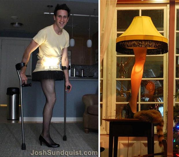 Mất một chân vì ung thư, chàng trai khiến cả thế giới ngưỡng mộ với những bộ trang phục Halloween siêu ngầu - Ảnh 8.