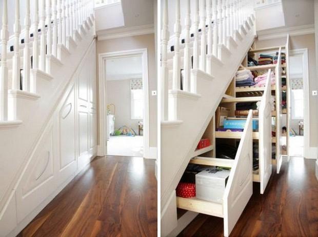 15 ý tưởng nội thất tận dụng gầm cầu thang vừa hiệu quả, vừa đẹp - Ảnh 7.