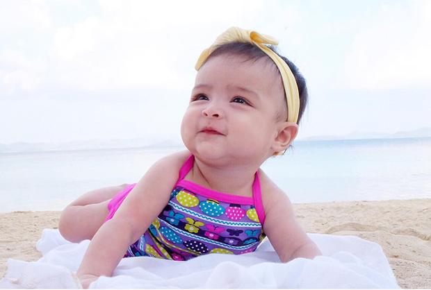 Chiêm ngưỡng vẻ đáng yêu của con gái mỹ nhân đẹp nhất Philippines - Ảnh 4.