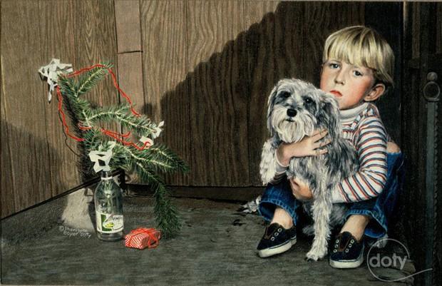 """Những góc khuất đêm Giáng sinh: Đâu đó vẫn còn những người đón """"mùa an vui"""" trong cô đơn và nghèo khổ - Ảnh 4."""