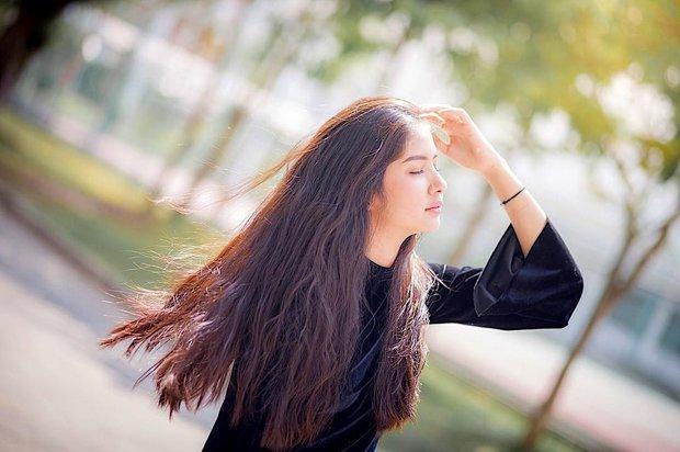 Vẻ đẹp ngọt ngào tựa nữ thần của hot girl Thái Lan không cần thả thính cũng khiến nhiều chàng trai tự đổ - Ảnh 5.