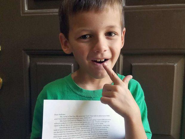 """Cô tiên răng nói gì khi nhận được """"thư vòi tiền"""" của một cậu nhóc - Ảnh 5."""