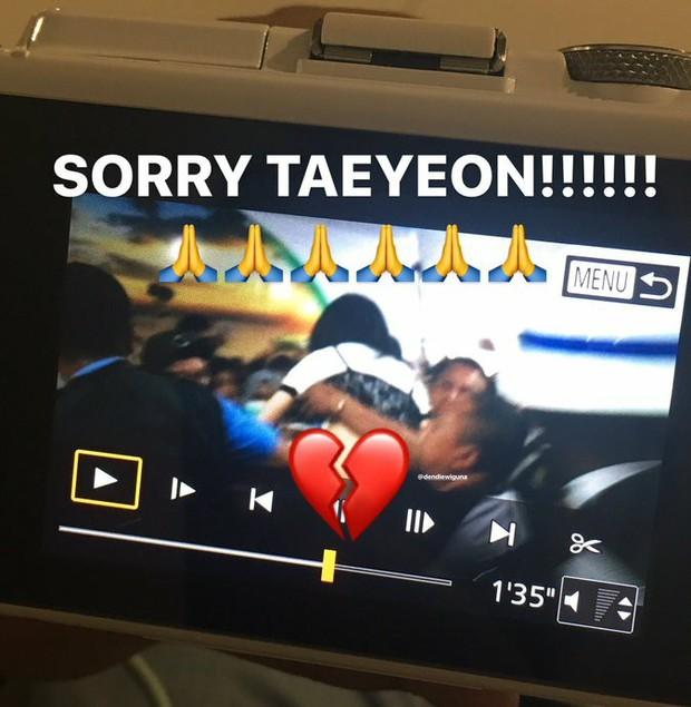 Ngày xui sấp mặt của Taeyeon: Ngã giữa sân bay, camera đập trúng đầu, truyền thông bịa đặt - Ảnh 5.
