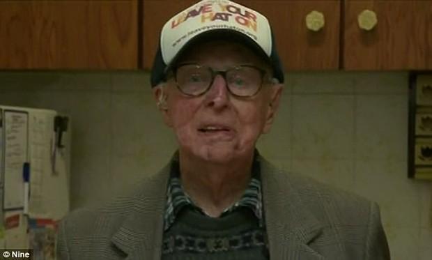 Dù đã ở tuổi 101, người cựu binh chiến tranh đã làm điều phi thường không ai có thể tin - Ảnh 2.