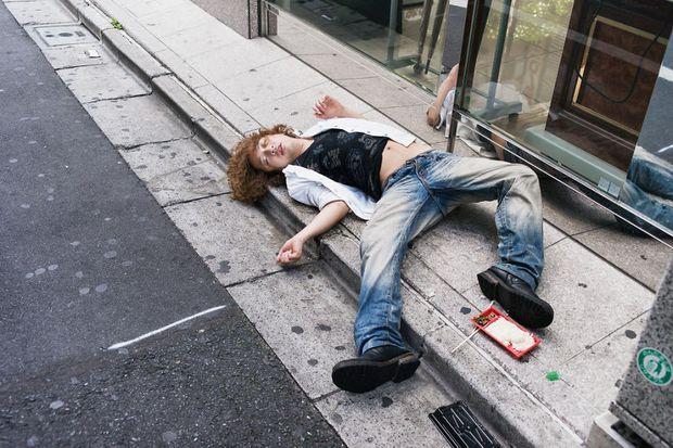Những gã say xỉn từ ga tàu cho đến đường phố: Nét văn hóa tiệc tùng của giới công sở Nhật Bản - Ảnh 4.
