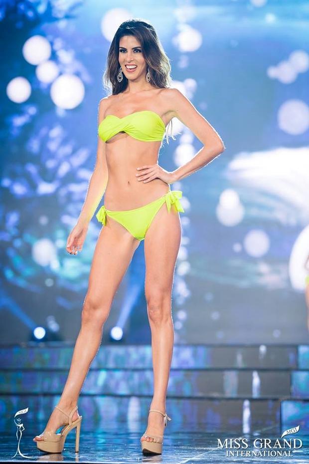 Ngắm gương mặt và vóc dáng tuyệt vời như nữ thần của Hoa hậu đăng quang Miss Grand International 2017 - Ảnh 7.
