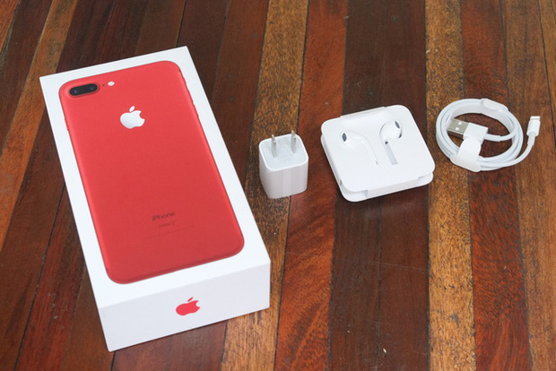 Mở hộp và trên tay iPhone 7 Plus đỏ đầu tiên tại Việt Nam, giá từ 25 triệu đồng - Ảnh 6.