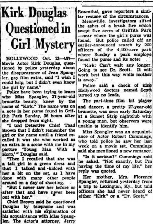 Sự mất tích bí ẩn của nữ minh tinh xinh đẹp Hollywood cùng lời nhắn 70 năm qua cảnh sát chưa thể giải mã - Ảnh 6.