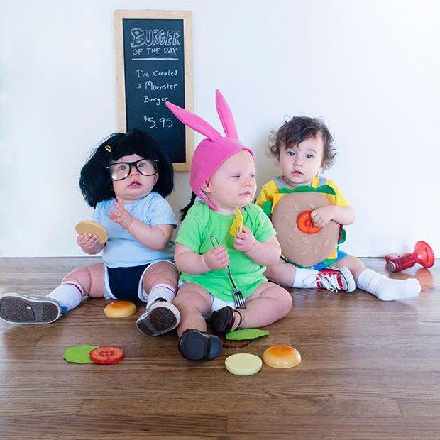 Đã tìm ra cặp song sinh chất chơi nhất mùa Halloween năm nay, mỗi ngày diện một bộ đồ siêu yêu - Ảnh 6.