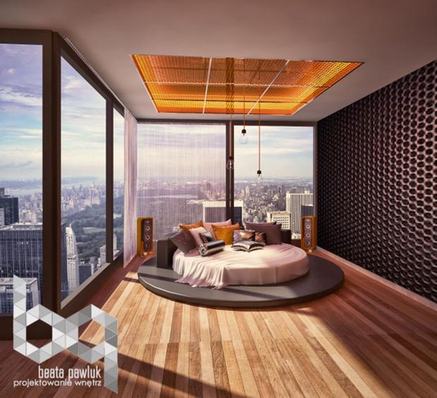 14 mẫu phòng ngủ rộng rãi dành cho người yêu kiến trúc - Ảnh 11.