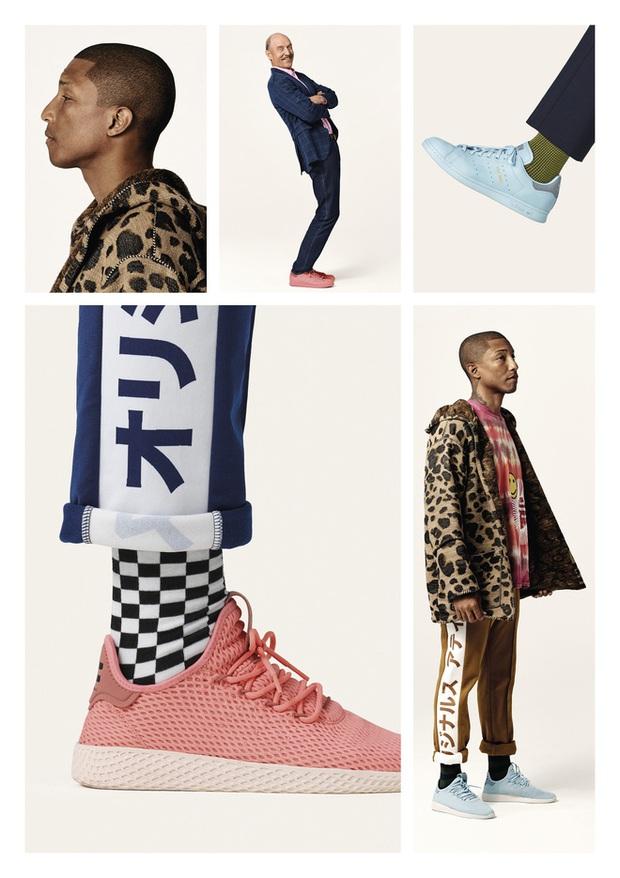 Pharrell Williams và Stan Smith tái hợp cho BST mới toàn tone màu pastel đẹp mê hồn của adidas - Ảnh 6.