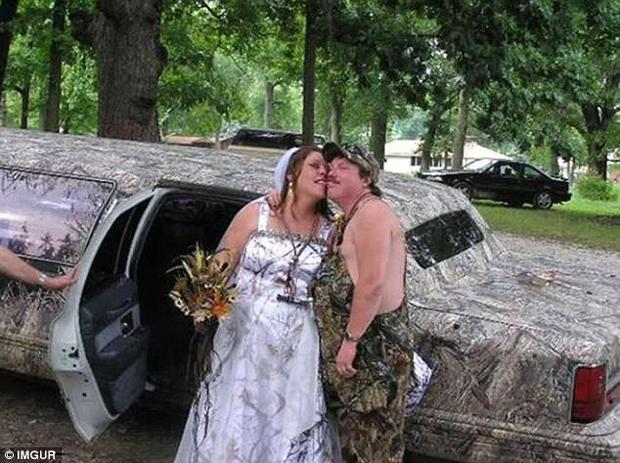 Những bộ váy cưới khiến khách đi ăn tiệc cười chết ngất: Độc là được, xấu đẹp miễn bàn - Ảnh 6.