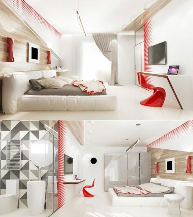 14 mẫu phòng ngủ rộng rãi dành cho người yêu kiến trúc - Ảnh 13.