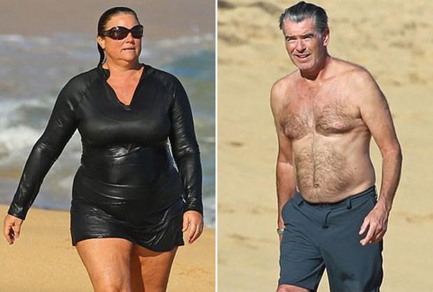 Sau nỗi đau mất vợ con, tài tử Điệp viên 007 tìm được tình yêu mới và họ yêu nhau suốt 23 năm dù cô ấy béo, xấu thế nào - Ảnh 7.