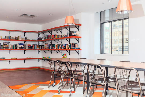Quán cà phê, máy hát karaoke, phòng trò chơi: Đây chính xác là công ty nhà người ta bao người mơ ước - Ảnh 8.