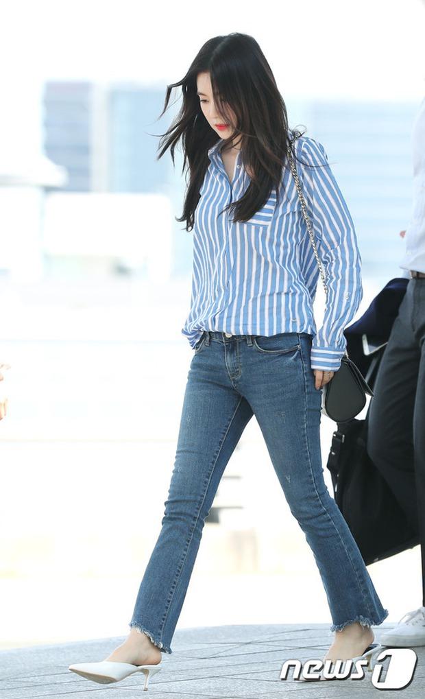 Nữ thần Kpop hai thế hệ đọ sắc: Sung Yuri U40 vẫn trẻ trung, Irene kém 10 tuổi cũng lép vế - Ảnh 8.