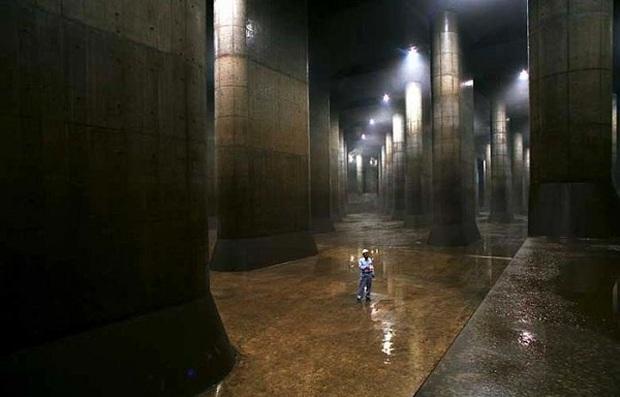 Điện thờ Pantheon dưới lòng đất Tokyo: Hệ thống thoát nước vĩ đại mang niềm tự hào của Nhật Bản - Ảnh 8.