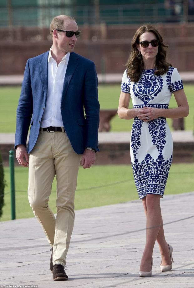 """Ít ai biết được rằng Công nương Kate và Hoàng tử William luôn chủ ý diện đồ """"tông xuyệt tông"""" - Ảnh 8."""