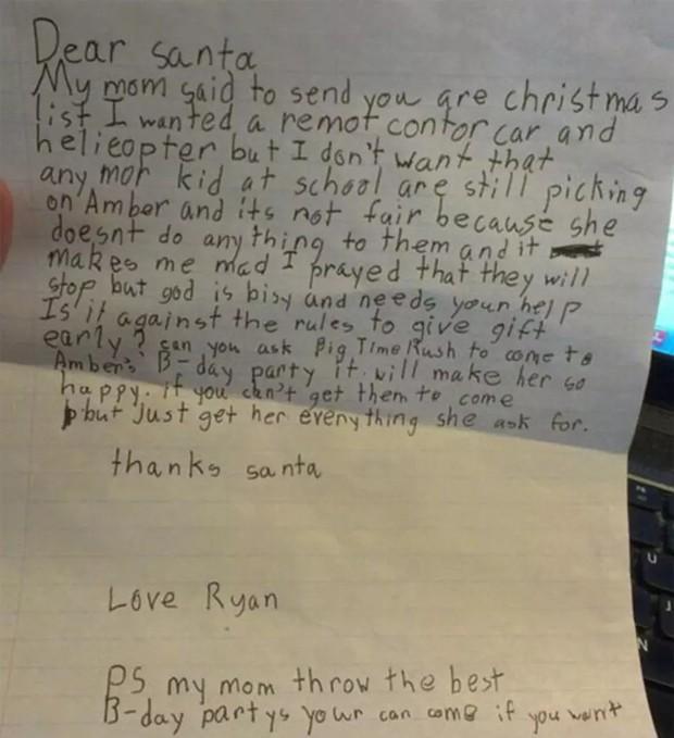 Những điều ước diệu kỳ của trẻ em trong dịp Giáng sinh: Lời nhắn số 9 khiến nhiều người vô cùng cảm động - Ảnh 8.