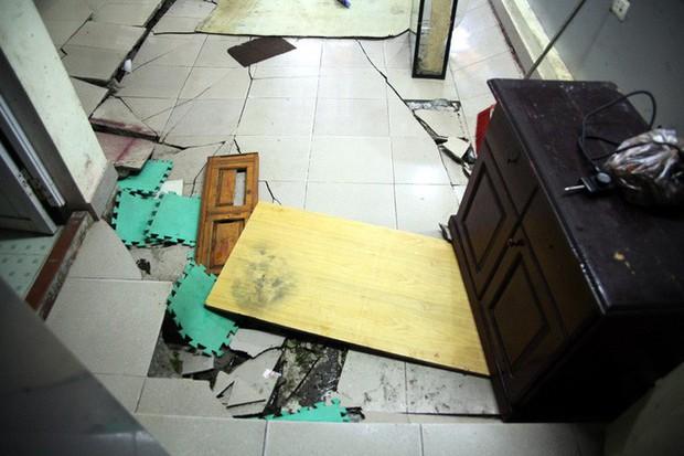 Hà Nội: Hàng chục người tháo chạy vì nền nhà sụt lún, nổ lớn trong đêm - Ảnh 8.