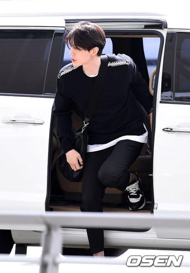 Có ai như Yoona và Lee Dong Wook, đi sân bay thôi cũng lung linh chẳng kém chụp hình tạp chí - Ảnh 10.