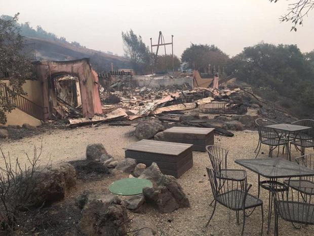 Bức ảnh gây nhói lòng trong vụ cháy rừng lịch sử tại Mỹ: Khung cảnh không khác gì một vụ thả bom nguyên tử - Ảnh 8.