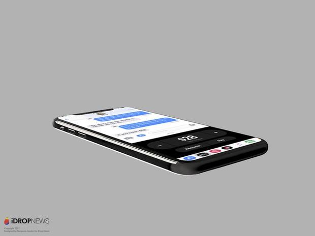Mãn nhãn với iOS 11 chạy trên iPhone 8 được dựng lại từ tin đồn - Ảnh 10.