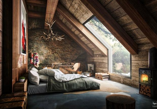 14 mẫu phòng ngủ rộng rãi dành cho người yêu kiến trúc - Ảnh 19.