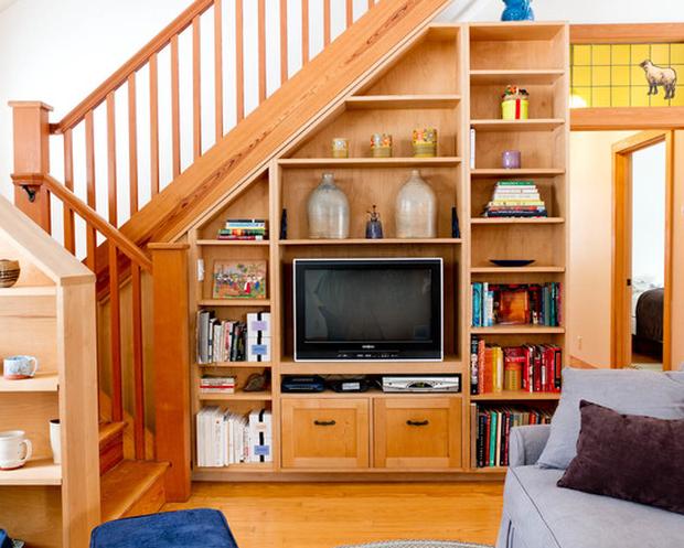 15 ý tưởng nội thất tận dụng gầm cầu thang vừa hiệu quả, vừa đẹp - Ảnh 17.