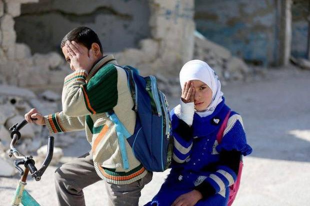 Syria: Xót thương bé 3 tháng tuổi chỉ còn một mắt - Ảnh 10.